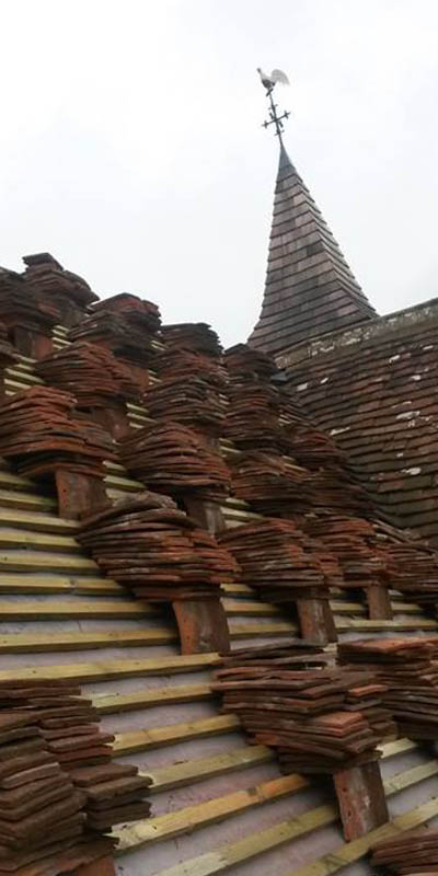 Chris Snell Roofing Salisbury character buildings photo
